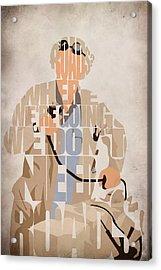 Doc. Brown Acrylic Print