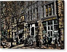 Doc Maynards And The Underground Tour - Seattle Washington Acrylic Print by David Patterson