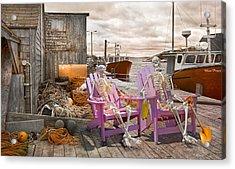 Dock Buddies Acrylic Print