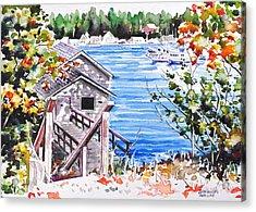 Harborview Drive View Acrylic Print
