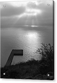 Acrylic Print featuring the photograph Dock On San Francisco Bay by Scott Rackers