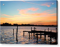 Acrylic Print featuring the photograph Dock On The Bay by Margie Amberge