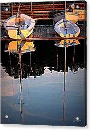 Docked Acrylic Print by Geri Glavis