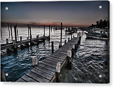 Docks At Ballyhoo Acrylic Print