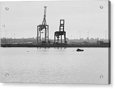 Docks Acrylic Print by Svetlana Sewell