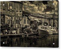 Dockside  Acrylic Print by Bob Orsillo