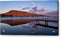 Dockside Morning Acrylic Print by Rob Wilson