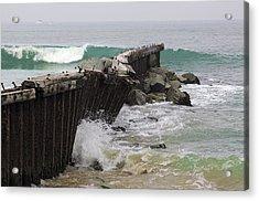Dockweiler State Beach Acrylic Print