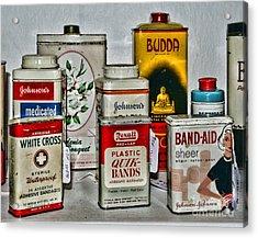 Doctor - Adhesive Bandages - Band Aid Acrylic Print by Paul Ward
