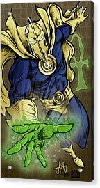Doctor Fate Acrylic Print by John Ashton Golden
