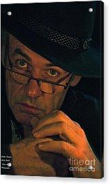 Doctor Faustus By Adel Black Jagger. Acrylic Print by  Andrzej Goszcz