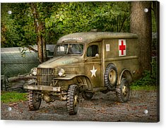 Doctor - Mash Unit  Acrylic Print by Mike Savad