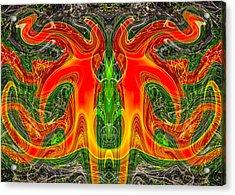 Doctor Octopus Acrylic Print by Omaste Witkowski