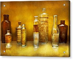 Doctor - Oil Essences Acrylic Print by Mike Savad