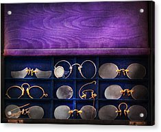 Doctor - Optometrist - Many Styles To Choose From  Acrylic Print by Mike Savad