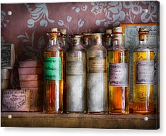 Doctor - Perfume - Soap And Cologne Acrylic Print by Mike Savad