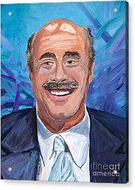 Doctor Phil Show Portrait Acrylic Print