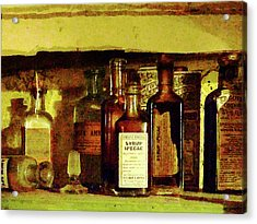 Acrylic Print featuring the photograph Doctor - Syrup Of Ipecac by Susan Savad