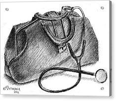 Doctors Bag Acrylic Print