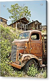 Dodge At The Mining Camp Acrylic Print
