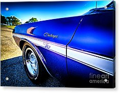 Dodge Challenger At Car Show Acrylic Print