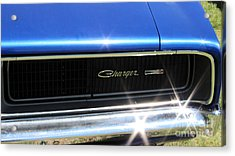 Dodge Charger Acrylic Print