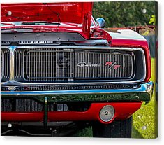 Acrylic Print featuring the photograph Dodge Charger Rt Classic  by Trace Kittrell