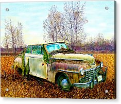 Dodge Coupe Convertible Acrylic Print by Ric Darrell