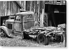 Dodge In The Country Acrylic Print by Dan Sproul