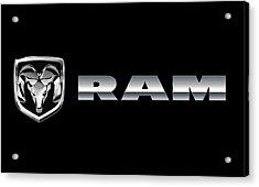 Dodge Ram Logo Acrylic Print