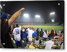 Dodger Stadium 3 Acrylic Print by Micah May