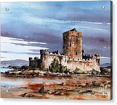 Donegal  Doe Castle Nr Creeslough  Acrylic Print