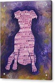 Dog Day Acrylic Print