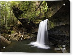 Dog Slaughter Falls - D002756 Acrylic Print by Daniel Dempster