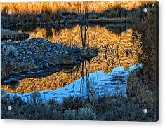 Dog Town Ghost Sunrise  Acrylic Print