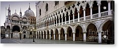 Doge's Palace And Basilica San Marco Acrylic Print by Rod McLean