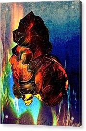Doggy Acrylic Print by Natalie Kawai