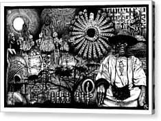 Dogon Dream Acrylic Print