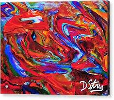Dogonit Acrylic Print