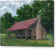Dogtrot House In Louisiana Acrylic Print