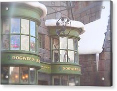 Dogweed Dream Acrylic Print