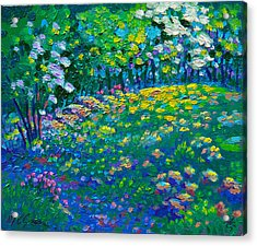 Dogwoods Day Acrylic Print