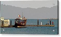 Doha Corniche Acrylic Print by Sanjeewa Marasinghe