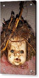 Doll Head Acrylic Print