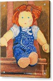 Doll Acrylic Print by Lutz Baar