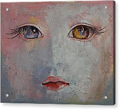 Baby Doll Acrylic Print by Michael Creese