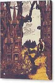 Dollhouse Forest Fantasy Acrylic Print