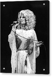 Dolly Pardon Acrylic Print by Retro Images Archive