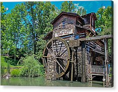 Acrylic Print featuring the photograph Dollywood  by Trace Kittrell