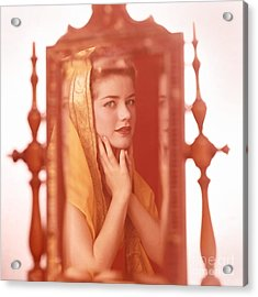 Dolores Hart Acrylic Print by Frank Bez